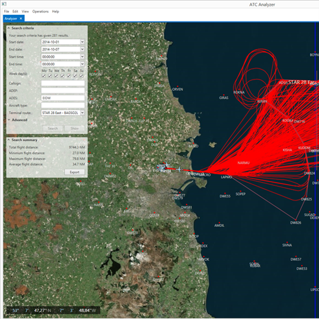 New analysis tool optimises airspace over Ireland