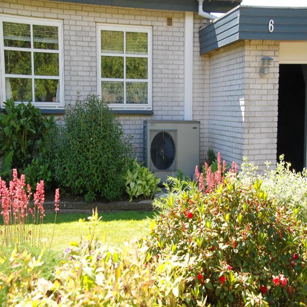 Heat pumps guarantee house owners simple and environment-friendly heating