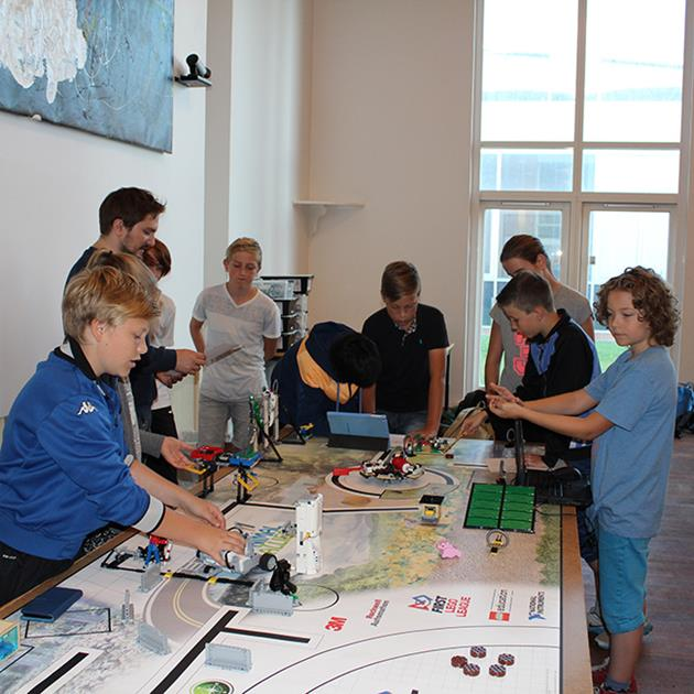 Insero forbereder elever til First LEGO League konkurrence